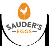 sauder's eggs company logo