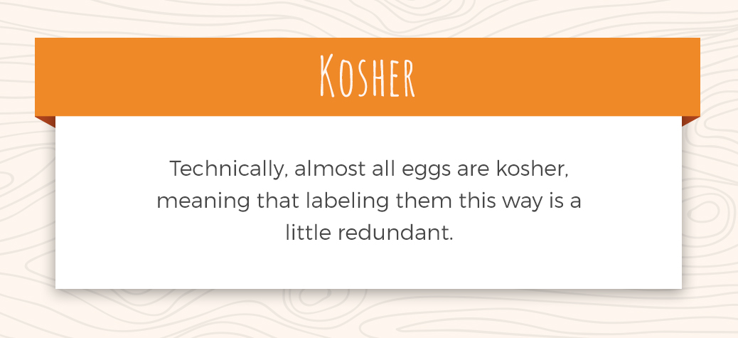 Description of Kosher Eggs