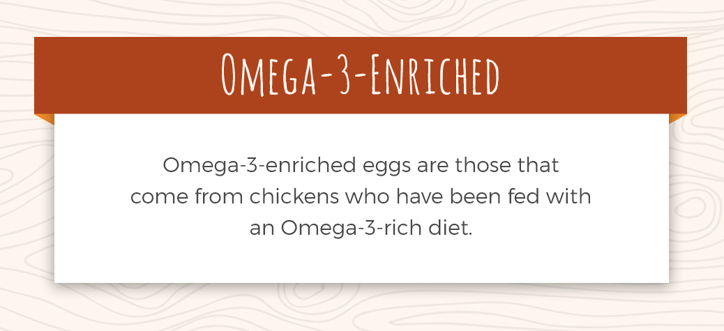 Description of Omega-3-Enriched Egg