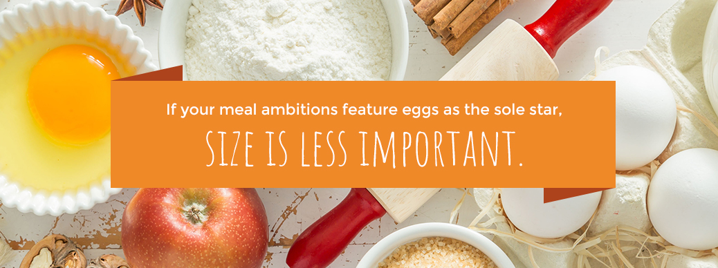 Egg Size is Less Important
