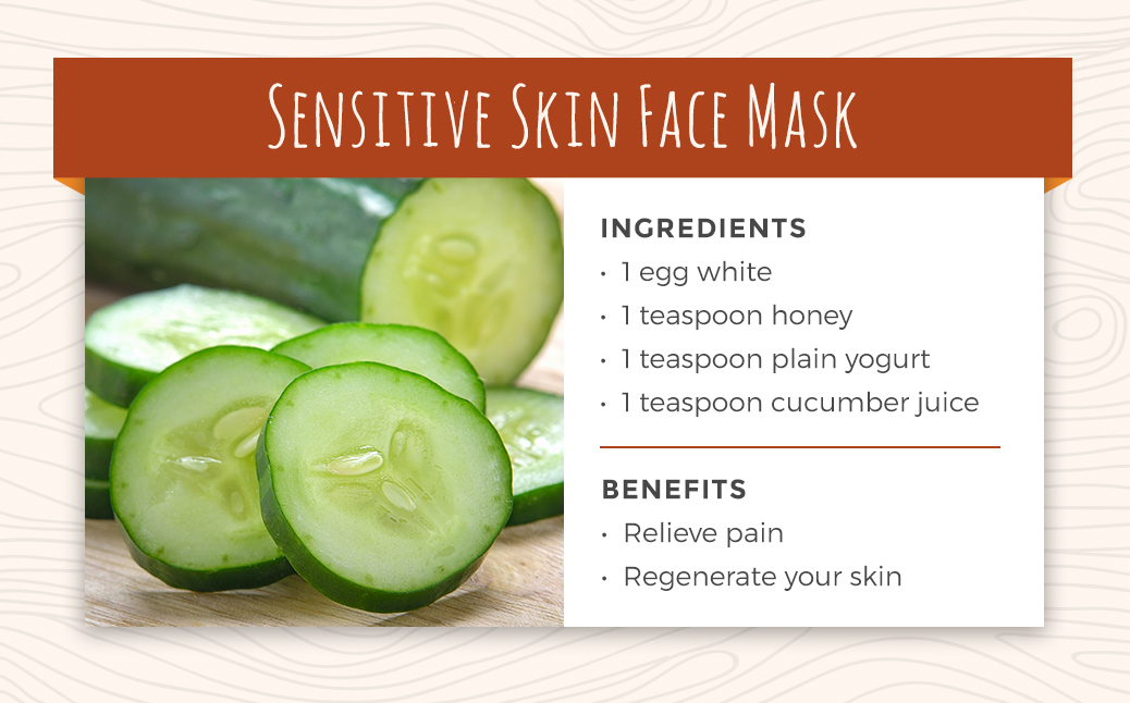 Recipe 8: Sensitive Skin Face Mask