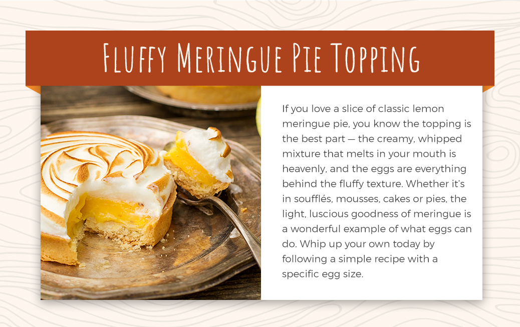 Simple Fluffy Meringue Pie Topping Recipe