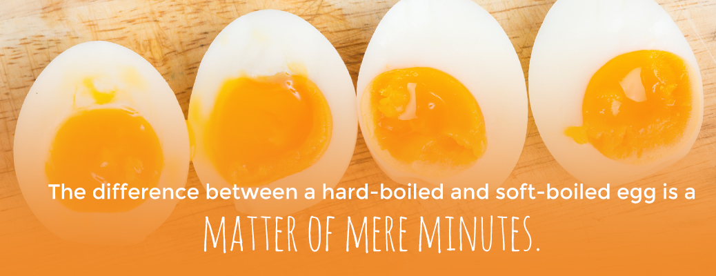 Hard-Boiled and Soft-Boiled Cooking Differences