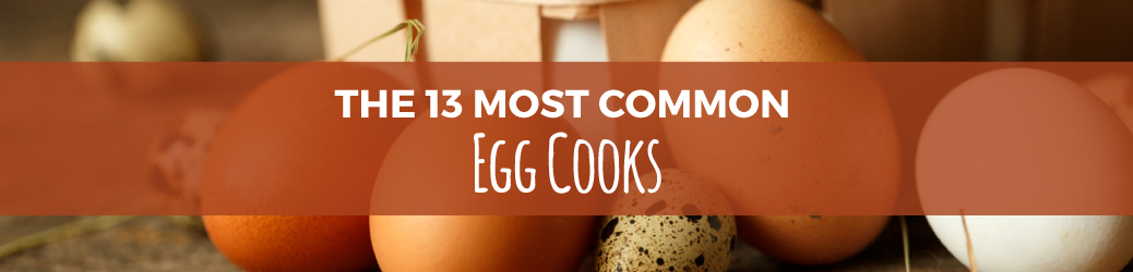 13 Most Common Egg Cooks