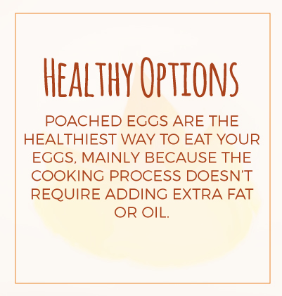 Healthy Options - Poached Eggs
