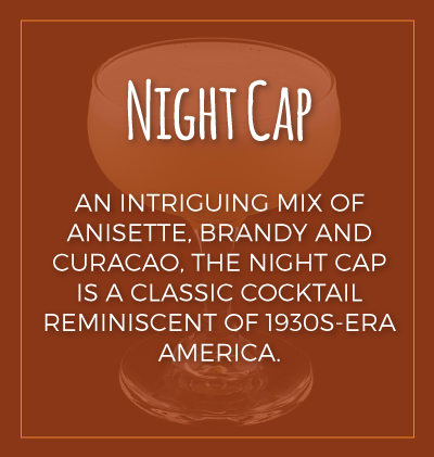 Night Cap Classic Cocktail
