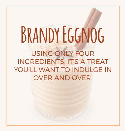 Brandy Eggnog Ingredients