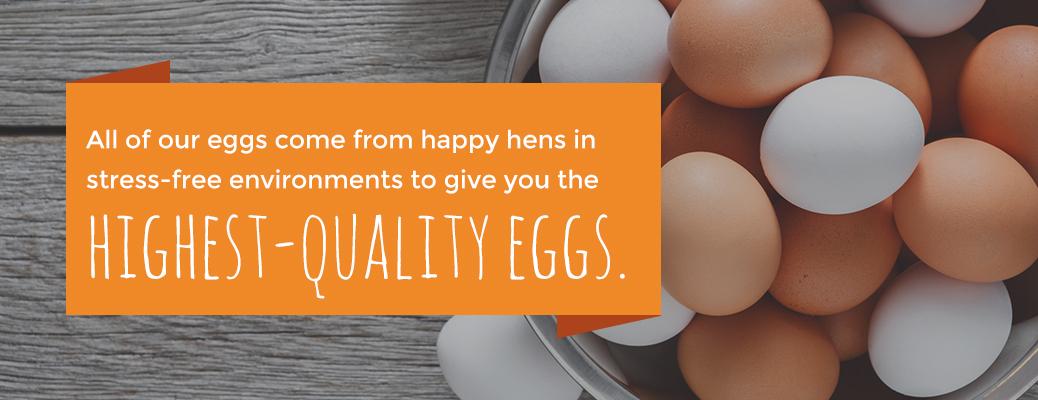 Highest-Quality Eggs Sauder's