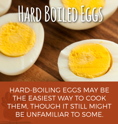Making Hard Boiled Eggs