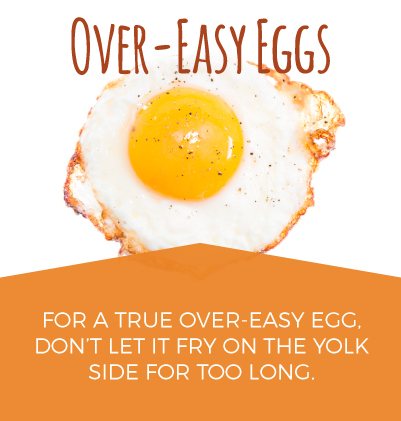 Tips for Making Over-Easy Eggs