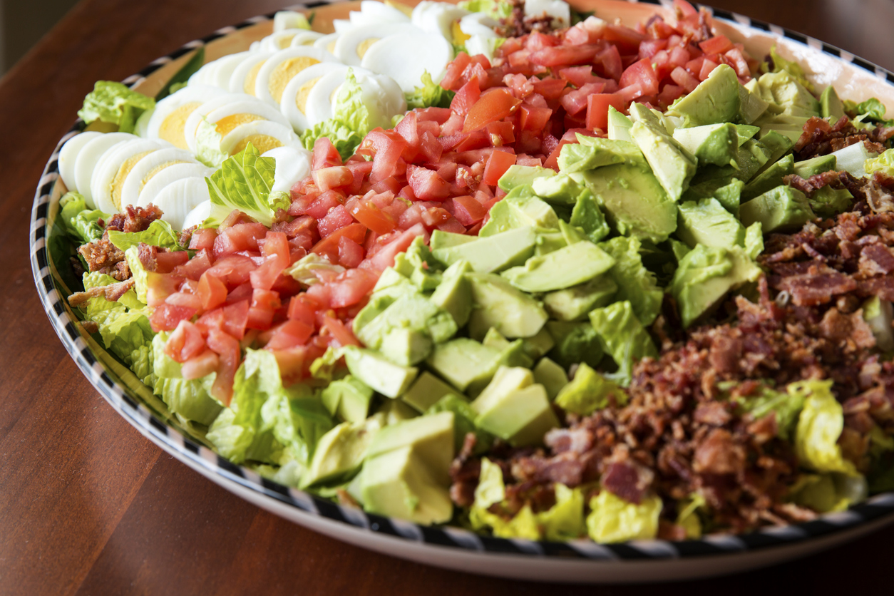 traditional cobb egg salad