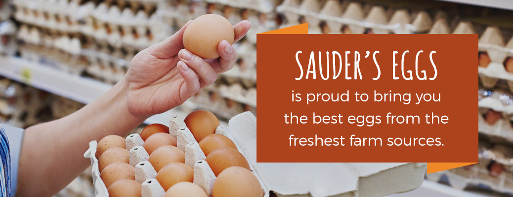 Sauder's eggs is proud to bring you the best eggs from the freshest farm sources