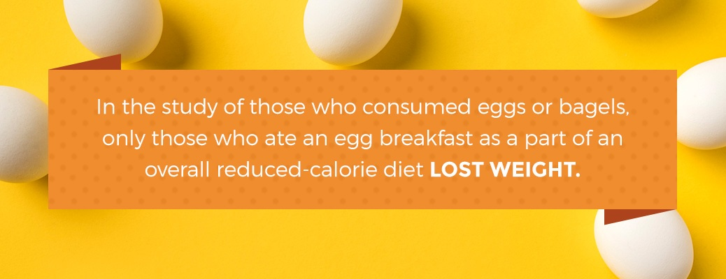 eggs can help with weight loss