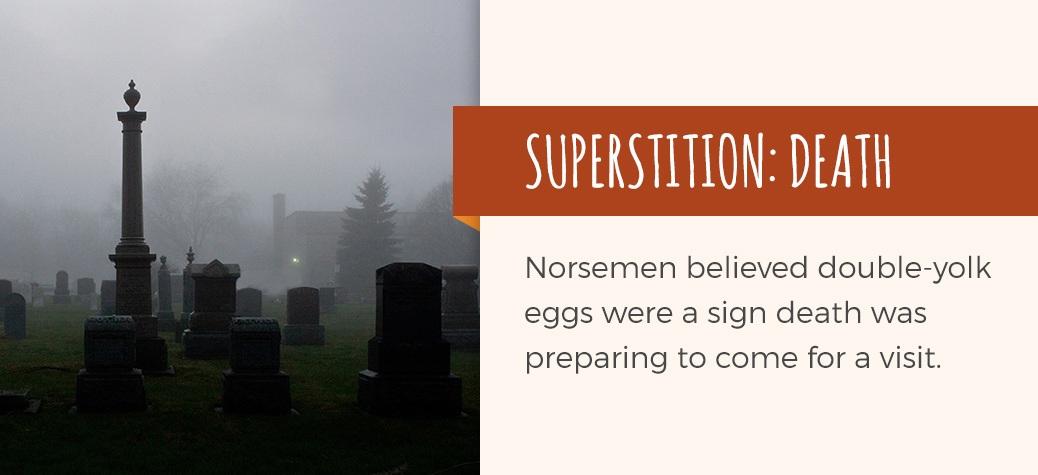 double yolk death superstition
