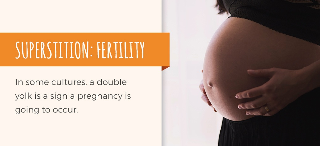 double yolk fertility superstition