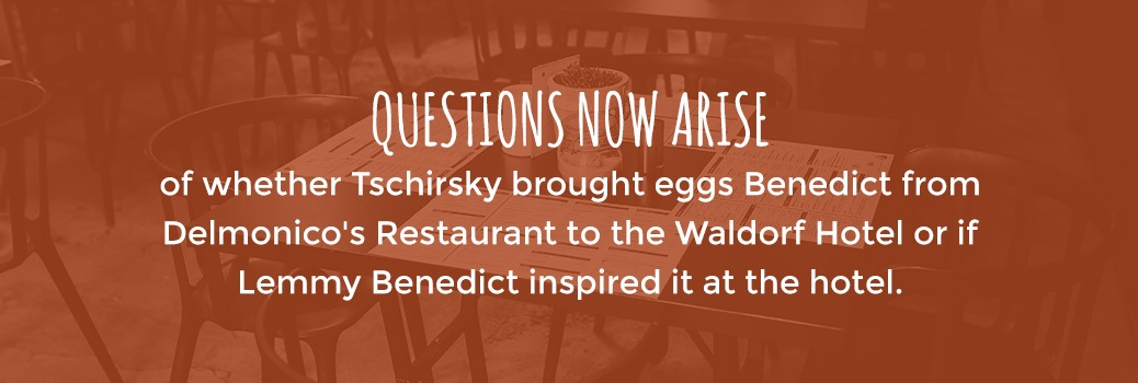 where did eggs benedict begin