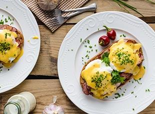picture of eggs benedict